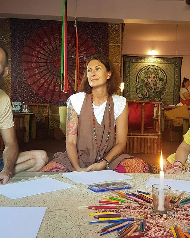 #tbt to our Art meditation session in In