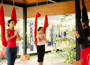 Don't try Aerial Yoga if…