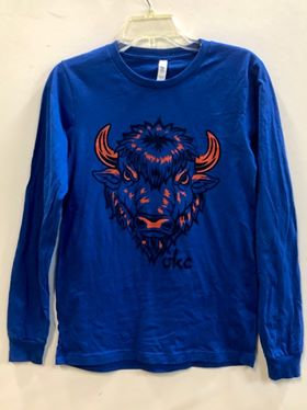 Big Blue Buff Long Sleeve