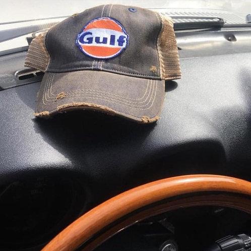 Gulf Distressed Hat (Black)