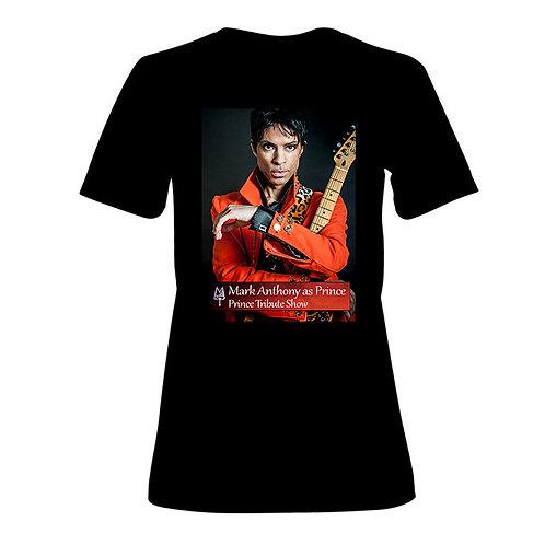 T Shirt Orange print MAasP