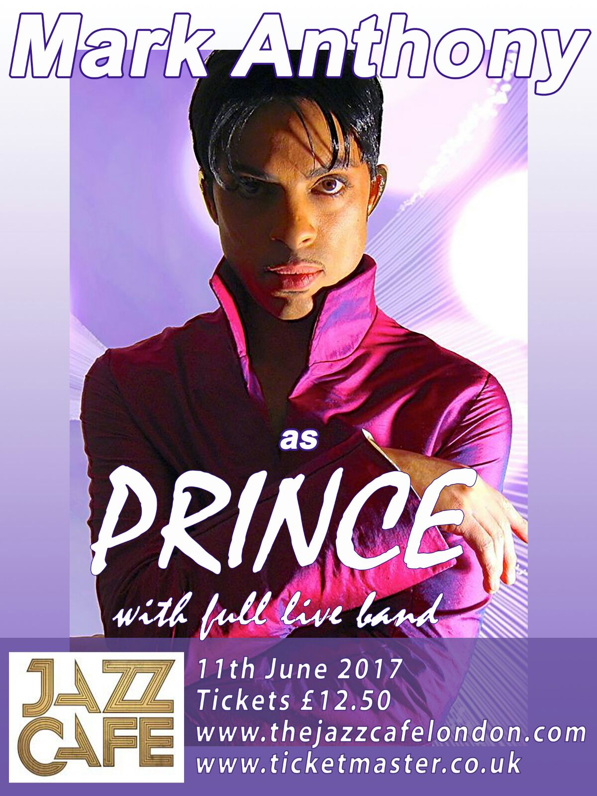 Jazz Cafe Sunday 11th June 2017