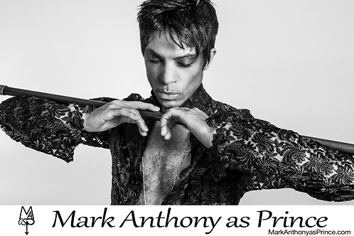 Mark Anthony as Prince: POSTER Print