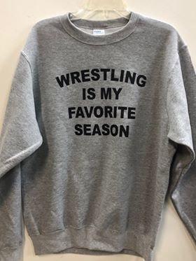 Wrestling Season Sweatshirt