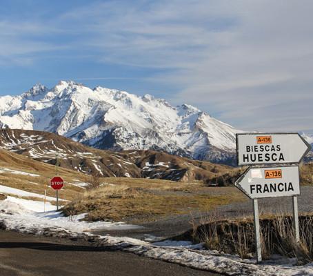 Atravessando os Pirineus no Inverno