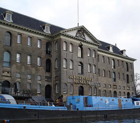 Museu marítimo de Amsterdam.
