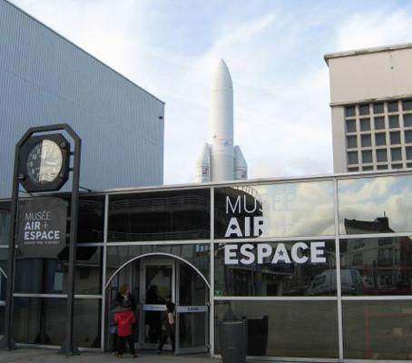 Museu do ar e do espaço em Paris.