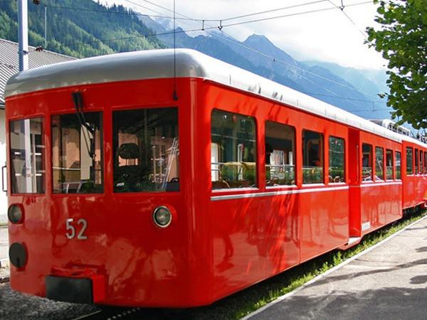 Trem de Montenvers - Chamonix - França