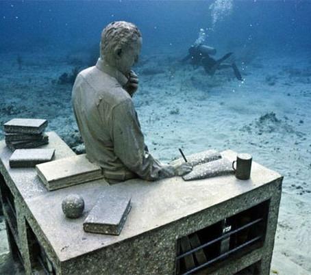 Museu Subaquático em Cancun – México
