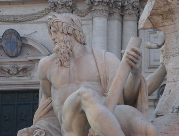 Fontana dei Quattro Fiumi - Piazza Navona - Roma - Itália