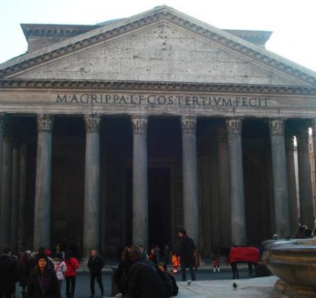 O Pantheon em Roma e sua incrível preservação.