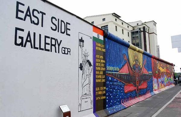 East Side Gallery - Berlim - Alemanha