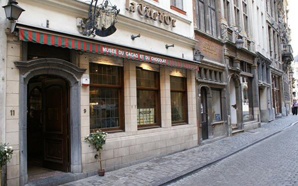 Museu do cacau e chocolate - Bruxelas - Bélgica