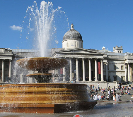 Trafalgar Square em Londres – Inglaterra