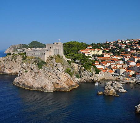 Dubrovnik, a bela pérola do Adriático.