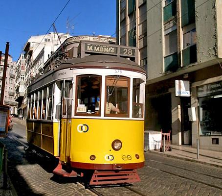 O lendário Elétrico 28 de Lisboa.