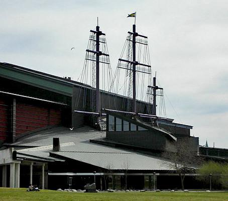 O impressionante Museu do Vasa em Estocolmo.