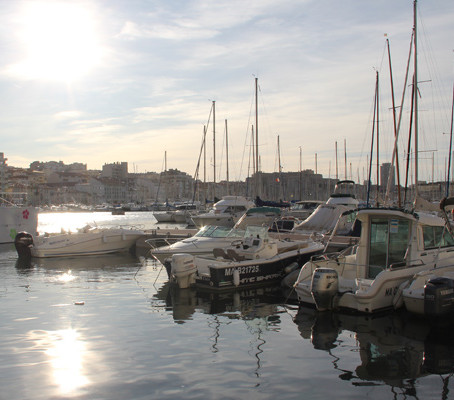 A beleza e simpatia de Marselha