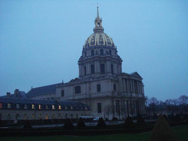 Invalides - Anoitecendo - Paris - França