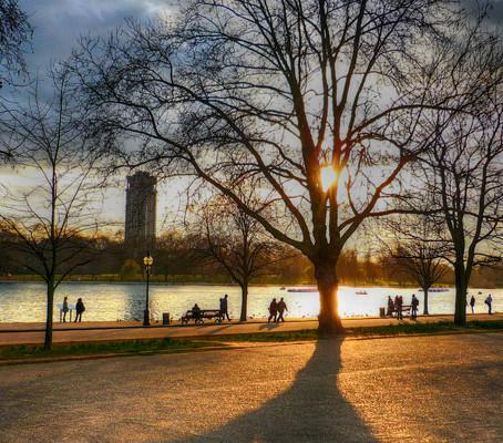 Área verde e parques em Londres