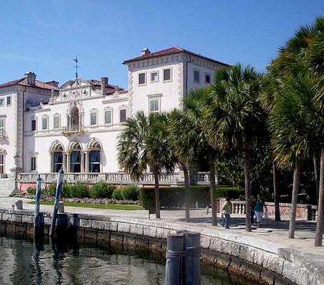 Villa Vizcaya  em Miami.