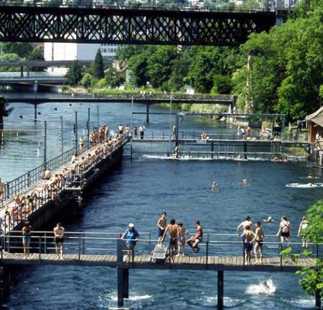 Sugestão refrescante para o verão em Zurique.