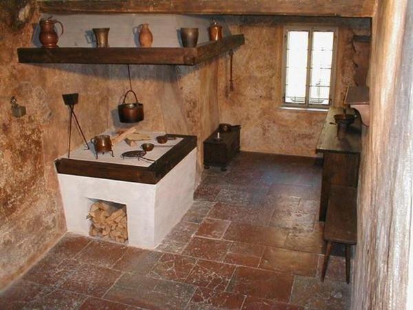 Cozinha - Casa de Mozart - Salzburgo - Áustria
