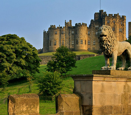 Magia em Alnwick Castle, o Castelo do Harry Potter.
