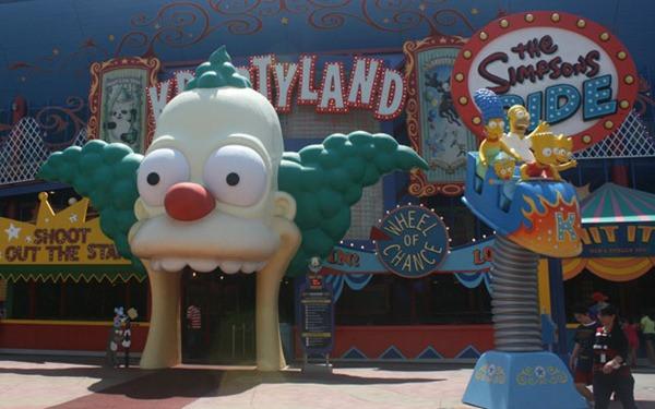 Simpsons - Universal Studios - Disney - Orlando - Florida - EUA