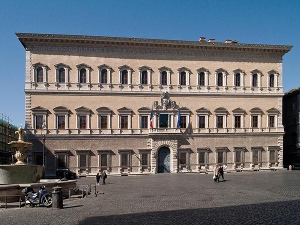 Palácio Farnese - Roma - Itália