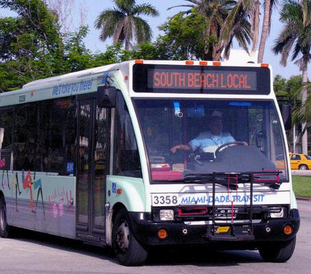 Ônibus em South Beach