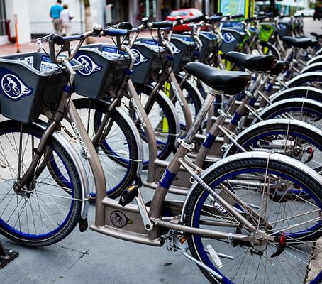 Aluguel de bicicletas em Miami Beach