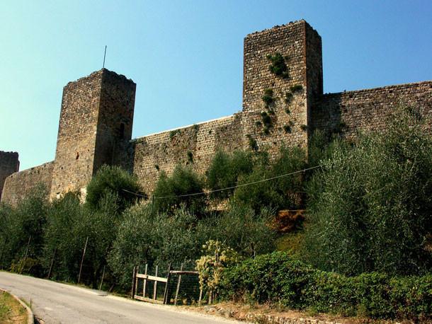 Muralha - Monteriggione - Toscana - Itália