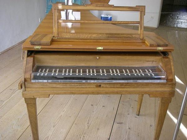 Piano na casa de Mozart - Salzburgo - Áustria