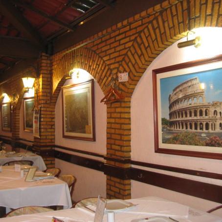 Gastronomia em Brasília: Restaurante Roma.