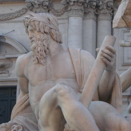 A espetacular Piazza Navona em Roma