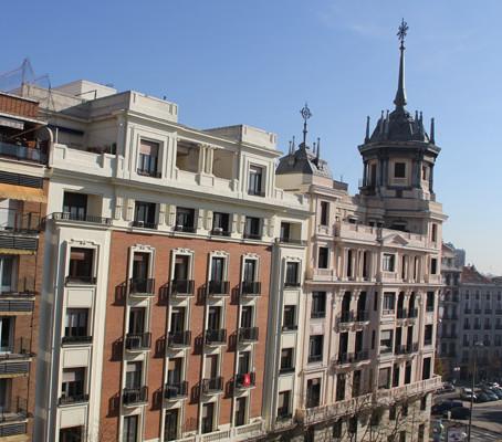 Chegada antecipada em Madri