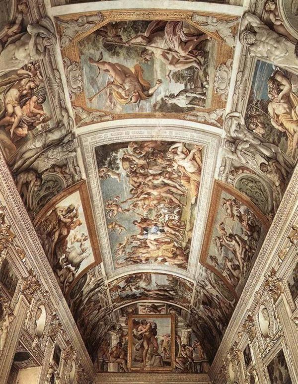 Carracci - Palácio Farnese - Roma - Itália