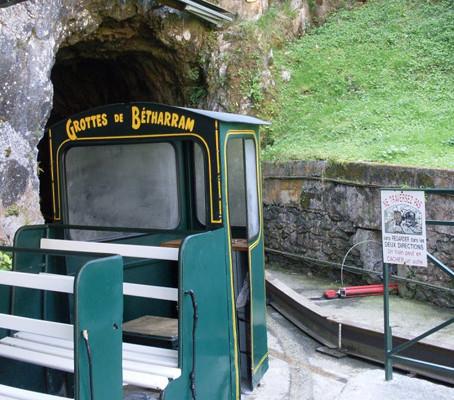 As Grutas de Bétharram em Lourdes – França