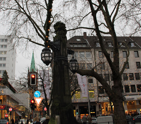 A metrópole Dusseldorf