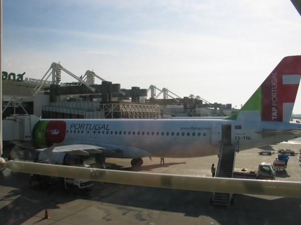 Avião da Tap - Aeroporto de Portugal