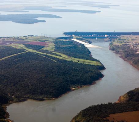 A chegada em Foz do Iguaçu
