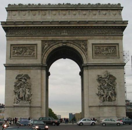Arco do Triunfo, Champs-Elysées & Cia