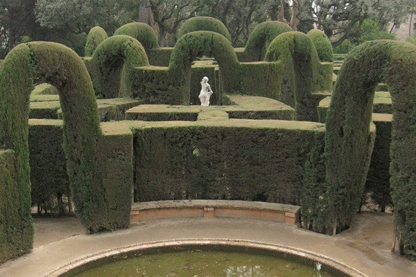 Parque do Labirinto de Horta - Barcelona - Espanha