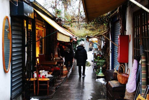Mercado das pulgas - Clignancourt - Paris - França