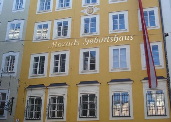 Casa de Mozart - Salzburgo - Áustria