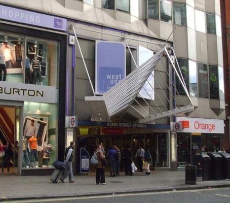 Bond Street em Londres: Glamour e tradição