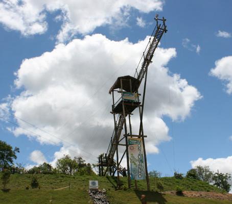 Aventura no Parque do Monjolinho em Socorro.