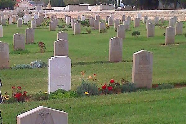 Cemitério Militar Britânico - Ramla - Israel