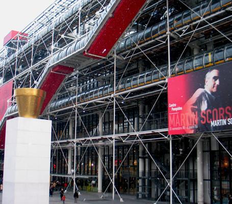 Centro Pompidou em Paris